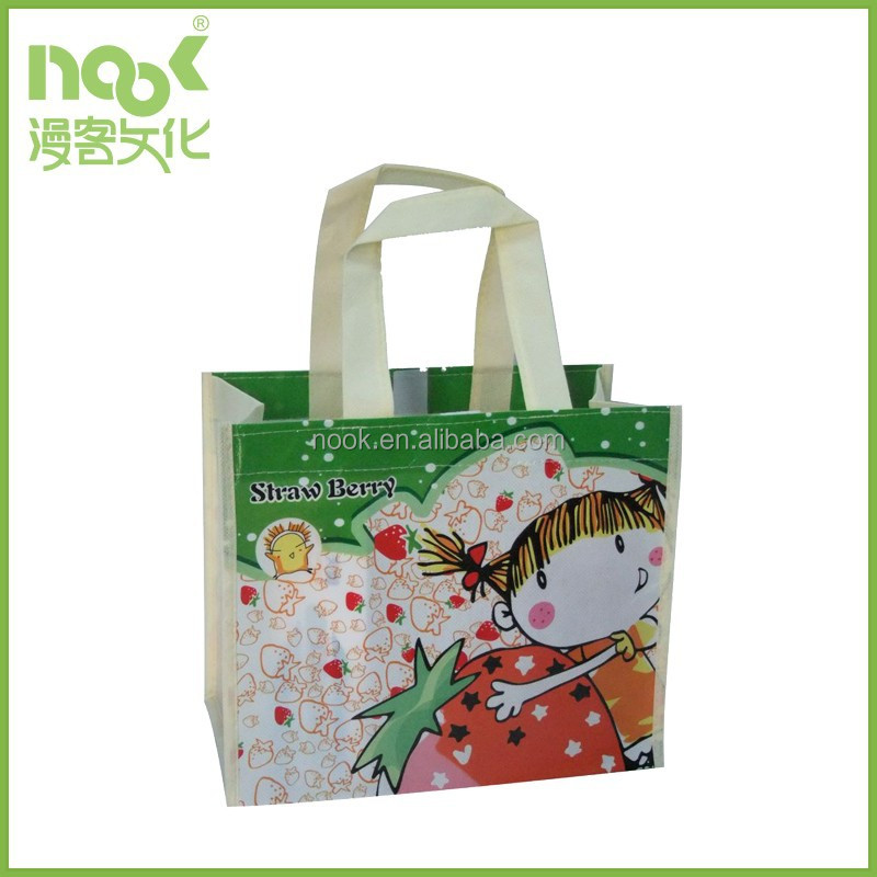 Eco-friendly Nonwoven Promotional shopping bag
