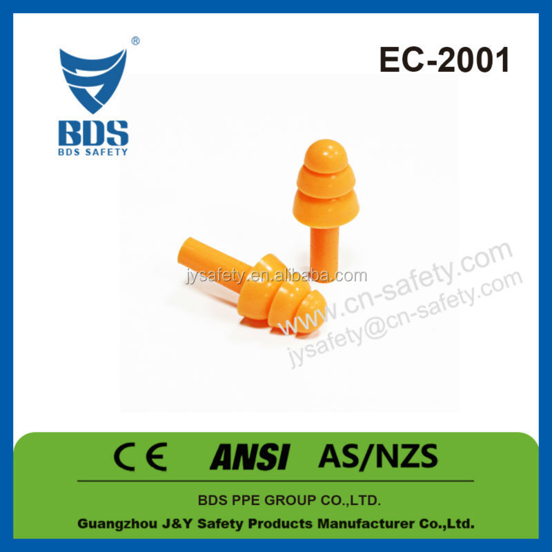 2017 Wholesale christmas industrial machinery reusable silicone earplugs