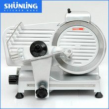 320w Electric frozen 220ES-8 inch Semi-automatic industrial meat slicer machine