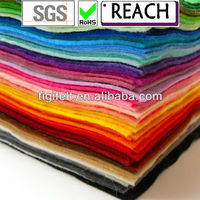Crafts DIY Polyester Felt Nonwoven Fabric Sheet for Craft Work
