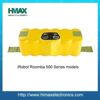 14.4V 3300mAh Ni-MH High Power Rechargeable Battery Pack for Irobot Roomba 500 series