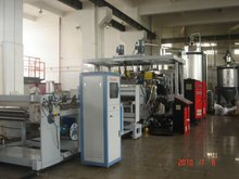 2012PET sheet making machine