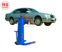 Single Post Design and One Cylinder Hydraulic mobile single post car lift with CE Certification