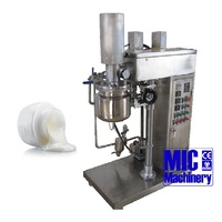 Hot sale MIC 10L small vacuum homogenizer