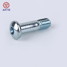 stainless steel binding post truss head hex socket screws