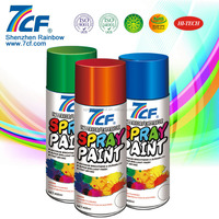 High Quality Multi- color Shenzhen Rainbow Fine Chemical Brand 7cf Acrylic Latex Spray Paint