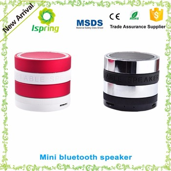 Rechargeable portable speaker for ipod/ipad/iphone