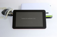 "7"" MTK6582 Quad Core 1.3GHZ processor 1G+8G 3G WIFI Bluetooth GPS Gyroscope Compass android telephone tablet pc"