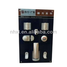 aluminum alloy toilet cubicle hardware