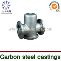 vacuum casting carbon steel parts used for alco diesel locomotive