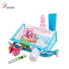 Clear cosmetic pvc bag mini cosmetic bag
