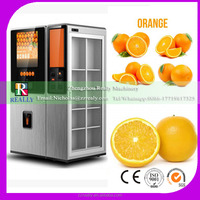 Automated vending,coin operated orange juice fruit vending machine with elevator
