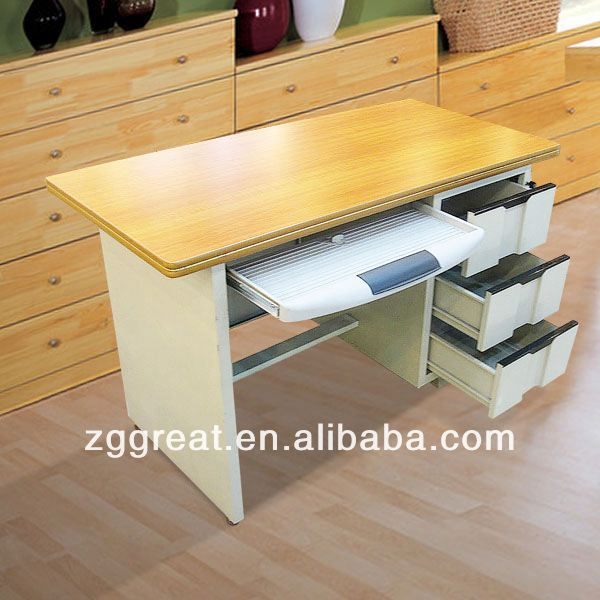 Steel Cheap Best selling modern tall office desk tables/metal frame office desk