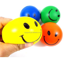 Besting Selling Cheap Promotional Polyurethane Foam Smiley Balls Stress Ball