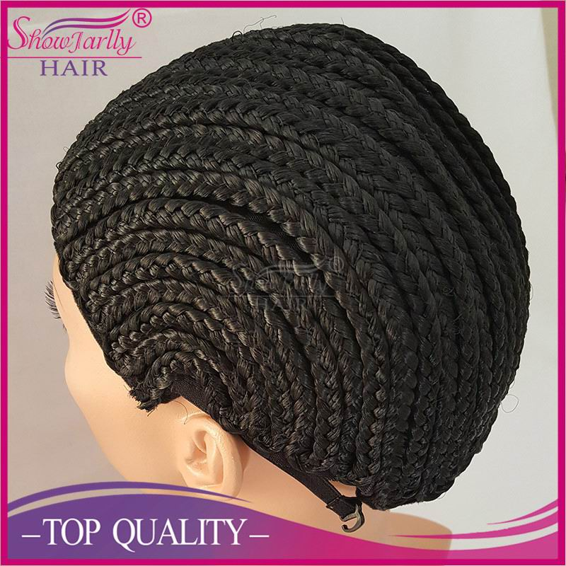 Cornrow wig caps for making wigs for net cap braided wigs for black women