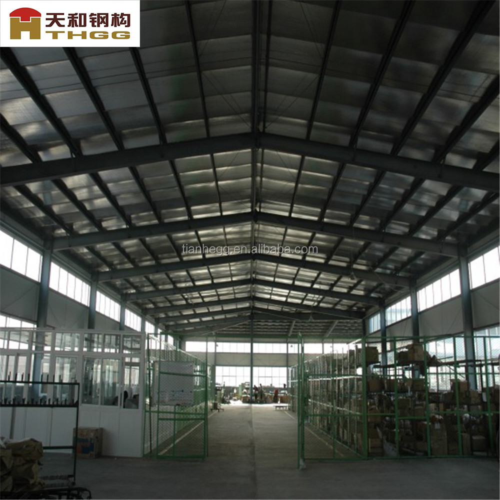 Q235 Q345 Cheap Certified Prefab Steel Structure Warehouse