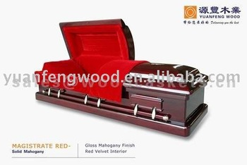 Magistrate Red Casket