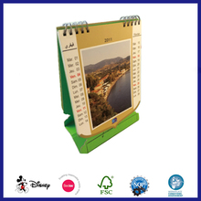 Best creative table stand agenda calendar design