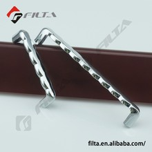 2707 Decorative Kitchen handle cabinet fitting chrome plating