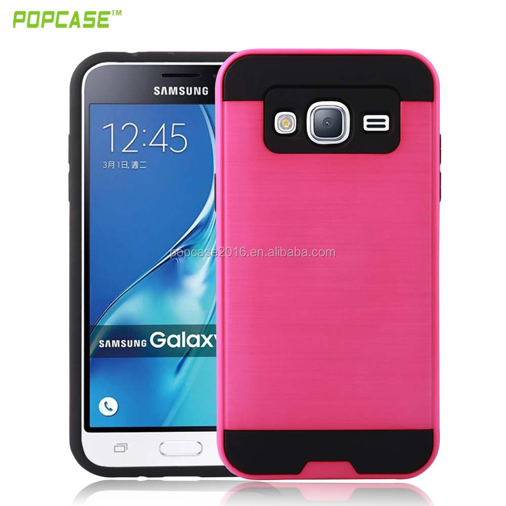Free sample shockproof mobile phone case for Samsung J3