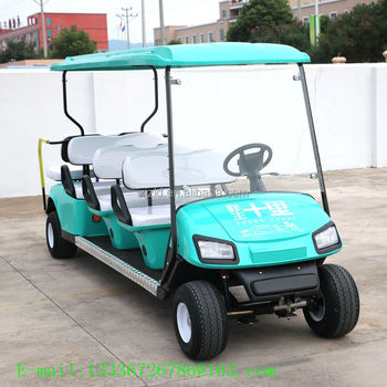 New design used electric golf cart motors and chinese golf carts /club car golf cart