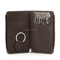 custom Genuine Leather Key Wallets Manufacturer