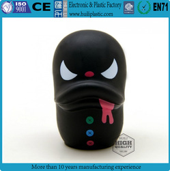 Evil duck vinyl toy, little mushroom custom vinyl toys, special egg figure make your own vinyl toy