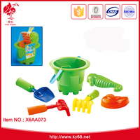 Kid outdoor play toy sand beach set beach bucket set