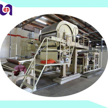 China Factory Virgin Pulp Small Scale Toilet Paper Making Machine For Sale