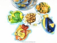 12g Fish Shape Chocolate Biscuit Cup with toy
