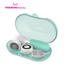 TOUCHBeauty Wholesale Hot Sale Including 3 different brush heads waterproof Electric facial cleansing brush