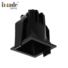 Modern Mini 6W 9W Dimmable Recessed Square 3000k LED downlights