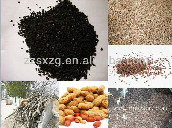 easy to maintain bamboo charcoal making machine