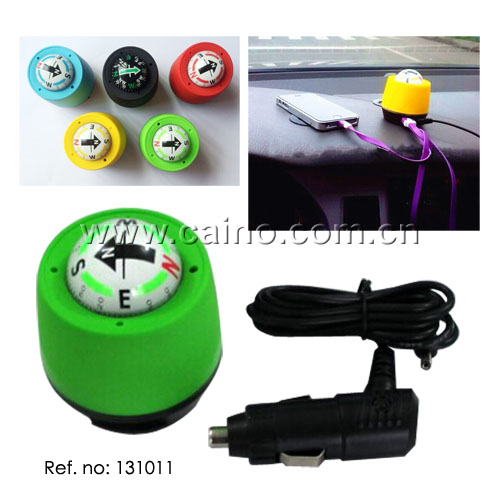 12v car compass with light(131011)