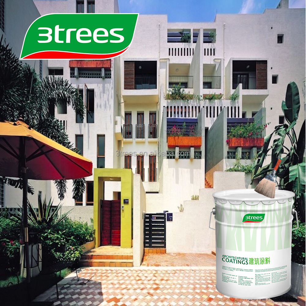 3TREES Weathershield Anti-Alkali Exterior Wall Emulsion Paint