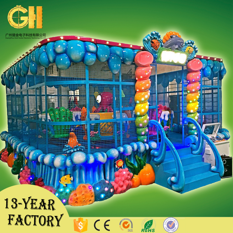 Gold Hunter Amusement Park Rides Ocean Train Gaming Machines Children Amusement Games