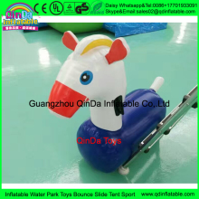 Walking inflatable Pony Hop Pon Pony ride on,bouncing animals inflatable ride on spur horse jumping