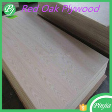 natural red oak fancy plywood/laminated sheet/timber wood