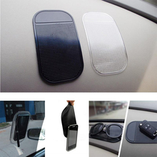 Promised 100% PU gel car non slip dashboard mat/sticky pad