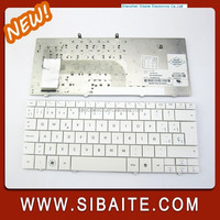 Manufacturer Laptop Parts Keyboard Replacement Brazil for HP Mini 110-1000