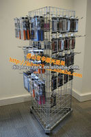 mobile phone case exhibition stand & display stand & mobile phone case display rack HSX-S1058