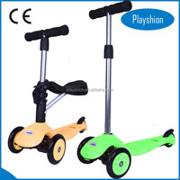Professional 3 in 1 Mini T - bar Kids Scooter Plastic Balance Scooter Wholesale