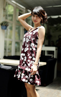 China Manufacturer Fashion good reputation Girl Party Wear Western Dress