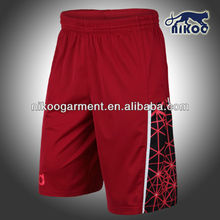 Newly arrived custom sublimated cool-dry sports shorts for men