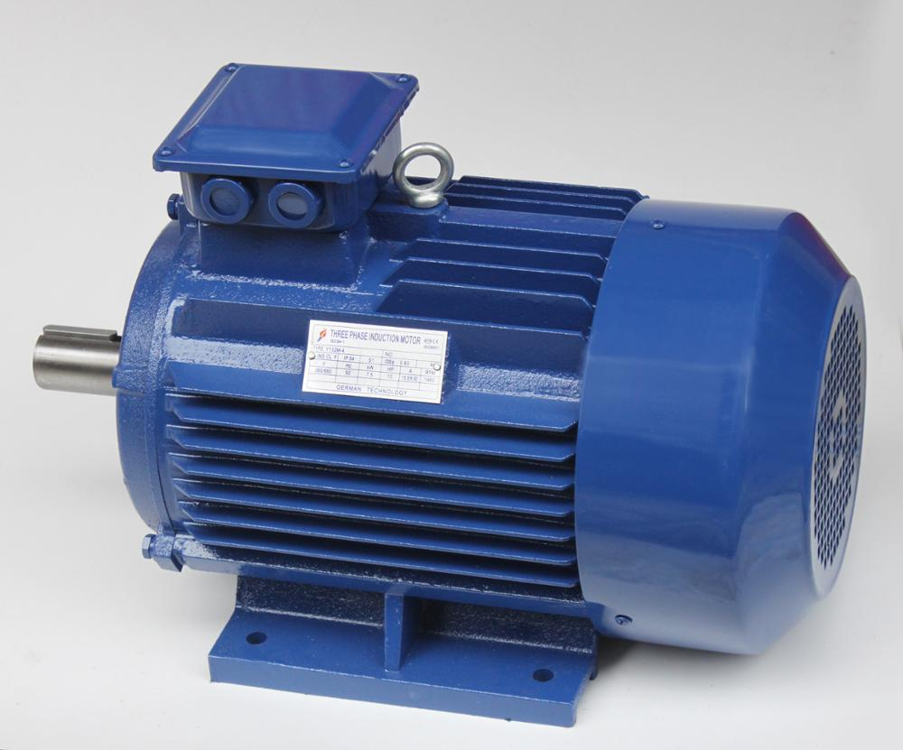 YX3 8 pole 0.55KW three phase ac induction electric motor