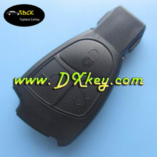 High quality smart key cover with a circle on the backside for 3 buttons benz key cover key blanks mercedes keys no logo