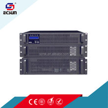 6kva/4.8kw single phase 2u rack mount cabinet cable modem rack mounte online ups without battery with led display