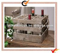 wood wine holders w/9 cells