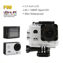 2018 new full hd sport camera waterproof 2k 4k action camera be unique wifi F60
