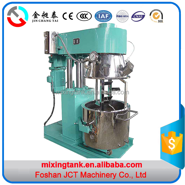 JCT planetary mixer for face cream for cosmetics for the emulsion